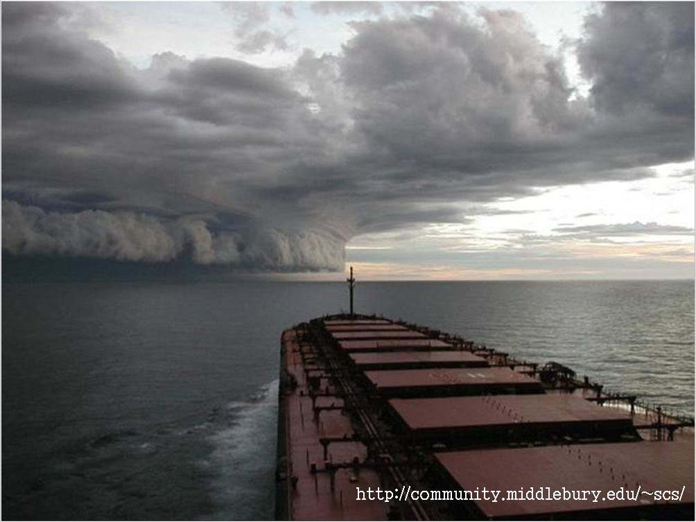 Stormy Weather in the South China Sea.