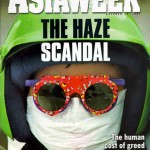 The Haze Scandal, Asiaweek, October 10, 1997. Front cover.