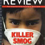 Killer Smog, Far Eastern Economic Review, October 9, 1997. Front cover.