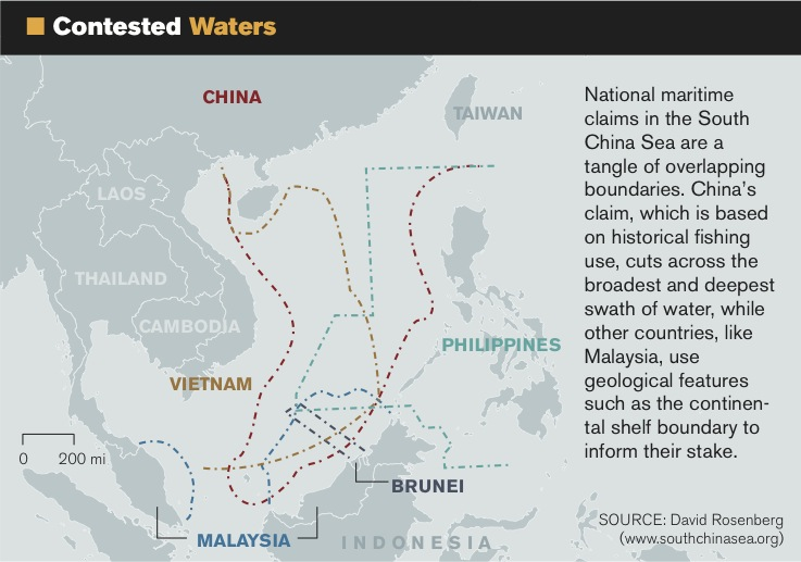 The South China Sea An online resource for students scholars and