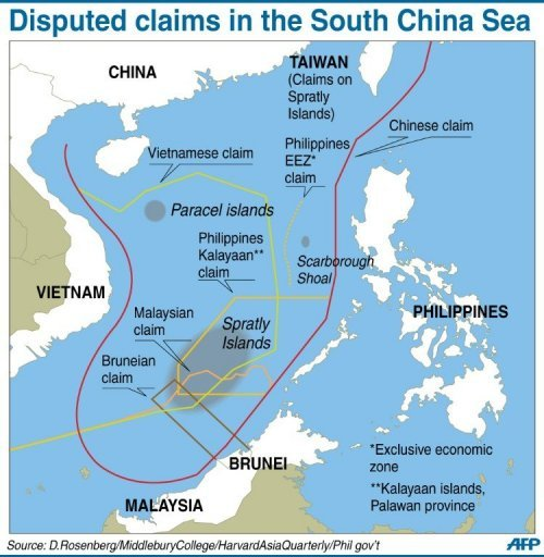 South China Sea Map Territorial Claims – Maps | The South China Sea South China Sea Map